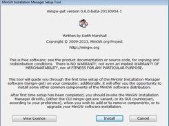 MinGW – 适用于Windows的极简GNU